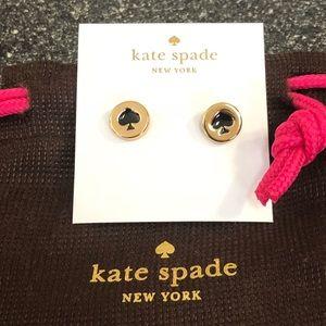 NWT- KATE SPADE SPOT THE SPADE EARRINGS.